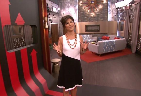 Big Brother 2013 House - Host Julie Chen