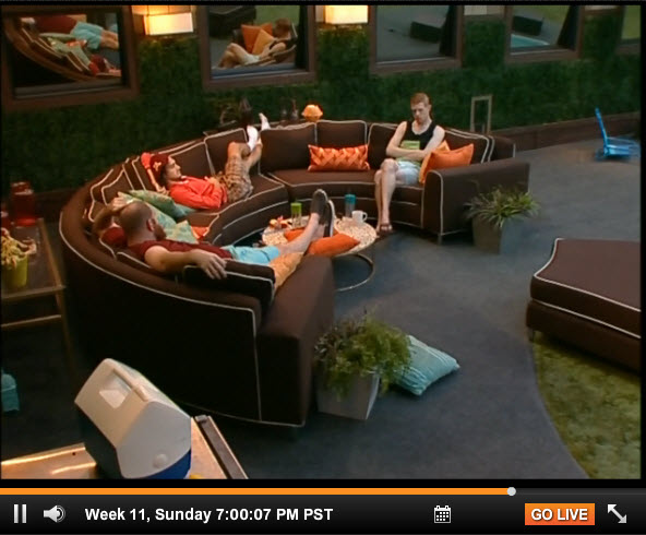 Big Brother 15 Week 11 Sunday Live Feeds (11)