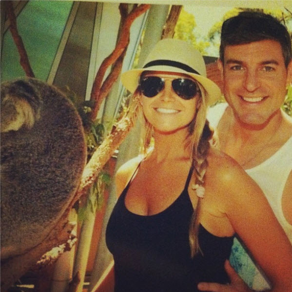 Jeff Schroeder and Jordan Lloyd at Sydney Zoo