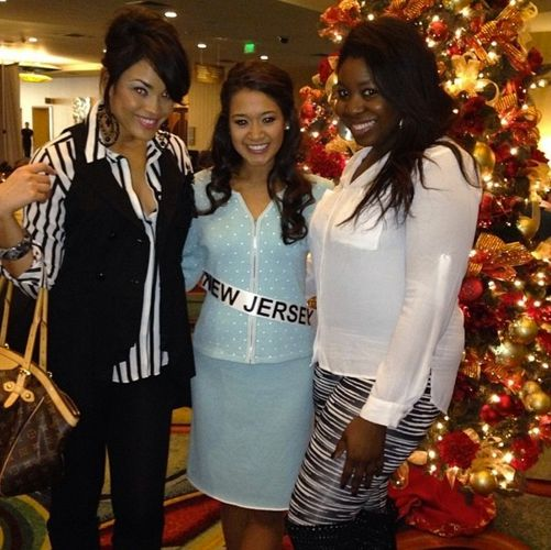 Big Brother 15 Candice Stewart and Miss New Jersey