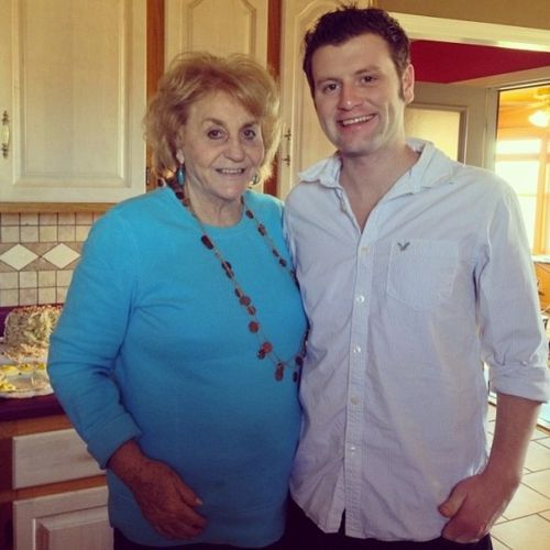 Big Brother 15 Judd Daughtery and grandmother