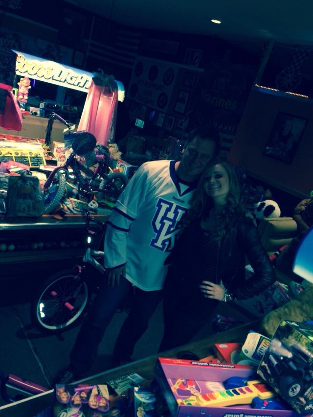 Big Brother Chef Joe Arvin and Kara Monaco