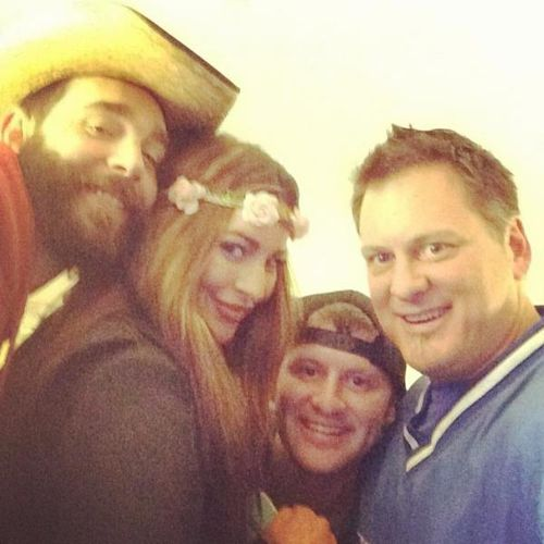 Big Brother Cowboy, Elissa Slater, Judd Daughtery and Chef Joe Arvin