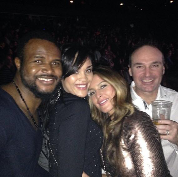 Candice Stewart, Elissa Slater and their respective beaus