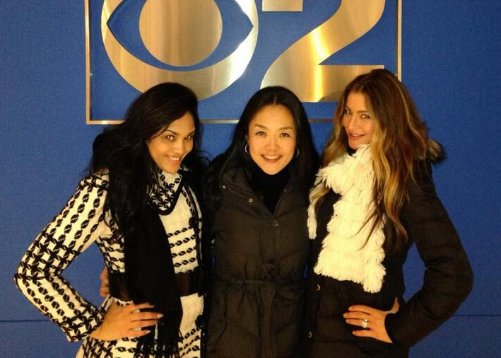 Candice Stewart, Helen Kim and Elissa Reilly