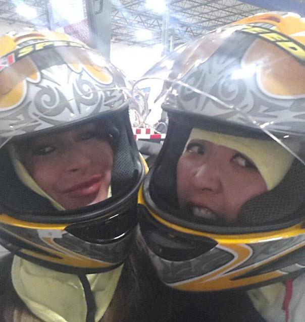 Elissa Reilly and Helen Kim
