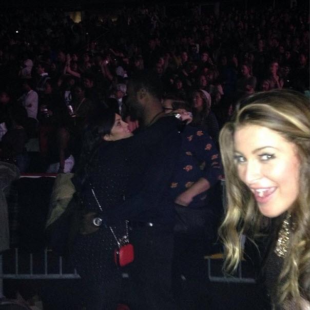 Elissa Reilly photobombs Candice Stewart and her boyfriend