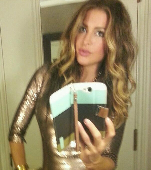 Elissa Reilly pretties up for Beyonce concert