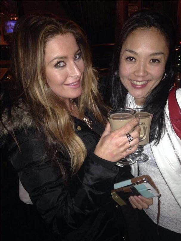 Elissa Stewart and Helen Kim