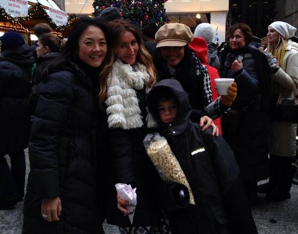 Helen Kim, Elissa Reilly and Candice Stewart