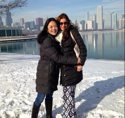 Helen Kim and Elissa Reilly