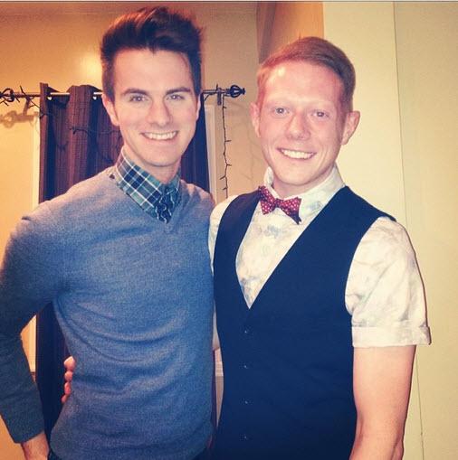 Big Brother 15 Andy Herren and boyfriend celebrate New Year's
