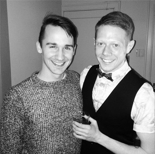 Big Brother 15 Andy Herren and boyfriend on New Year's