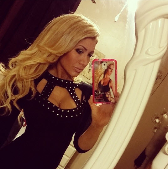 Big Brother 15 GinaMarie Zimmerman getting ready for New Year's