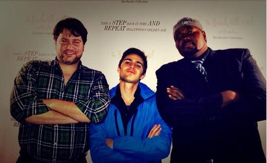 Big Brother 15 Nick Uhas with Matt Nicholas and Hollywood Gene