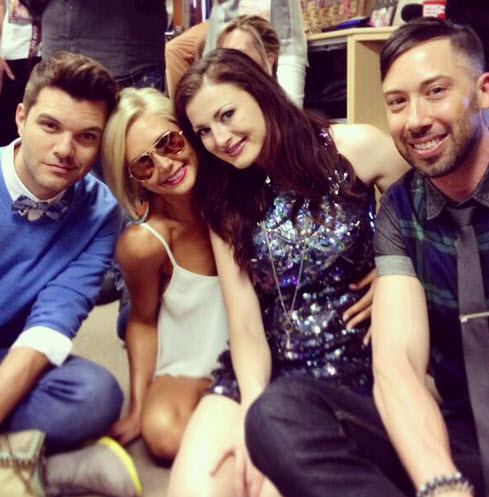 AJ, Ryan, Elissa, and Kat