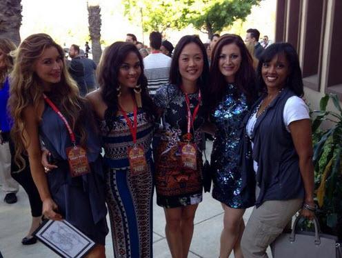 Elissa, Candice, Helen, Rachel, and Danielle