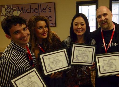 Ian, Rachel, Helen, and Adam