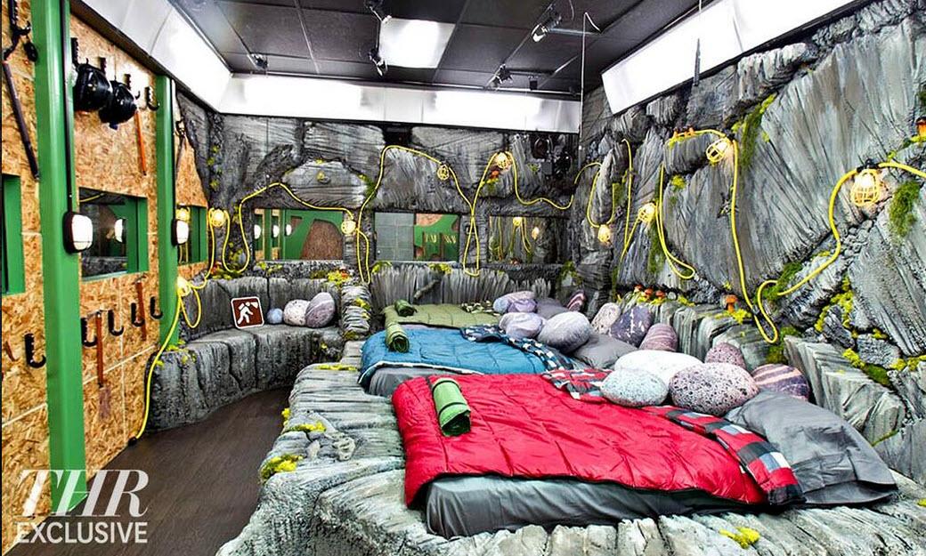 Big Brother 16 Earth Bedroom THR