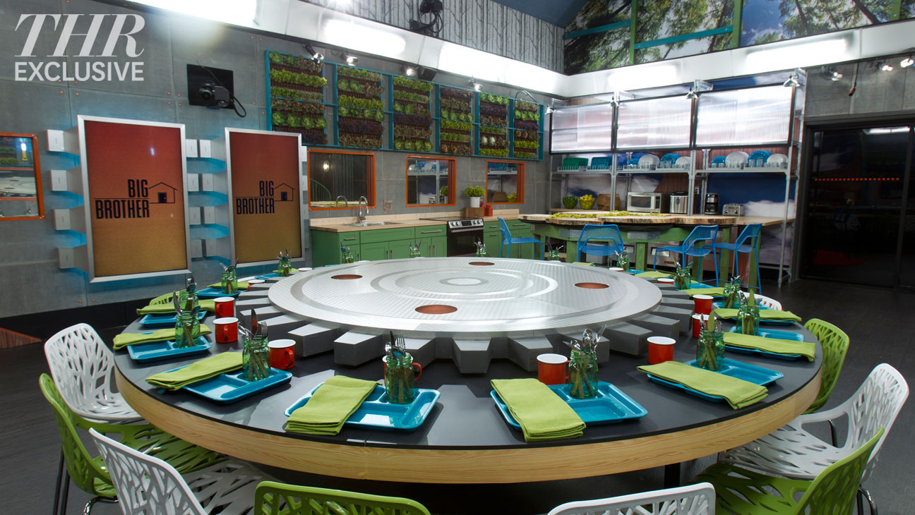 Big Brother 16 House Photos – Dining Room