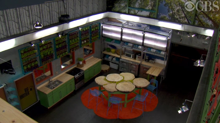 Big Brother 16 House Tour Kitchen 2