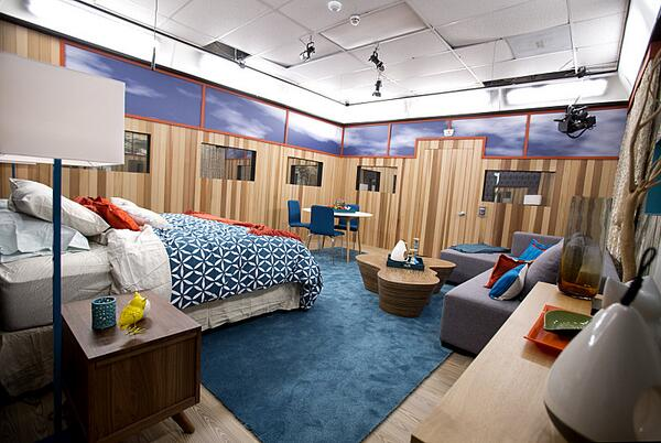 Big Brother 16 second HoH room