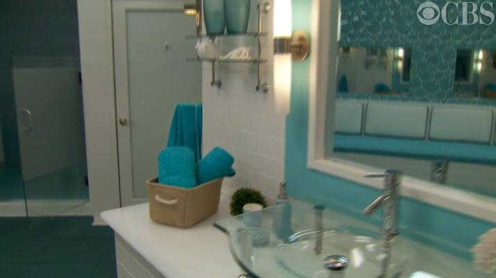 Big Brother House Tour Bathroom 2