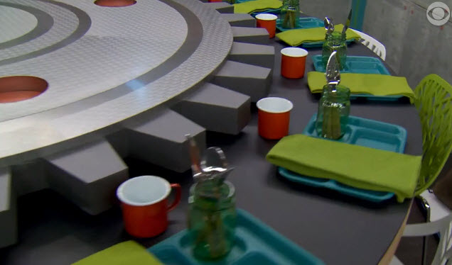 Big Brother House Tour Dining Room