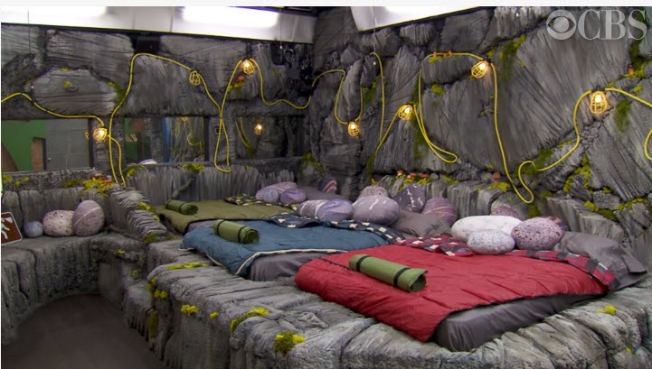Big Brother House Tour Earth Bedroom