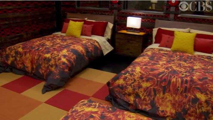 Big Brother House Tour Fire Bedroom 2
