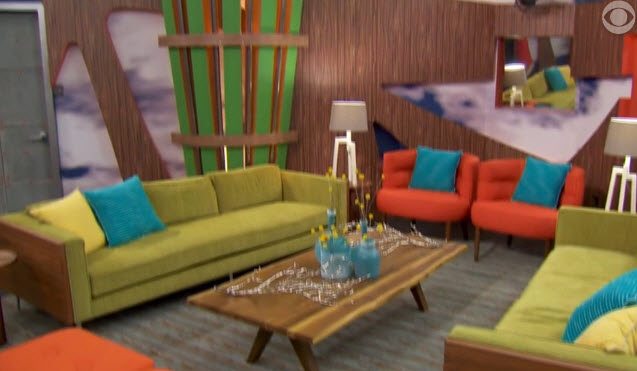Big Brother House Tour Living Room 6