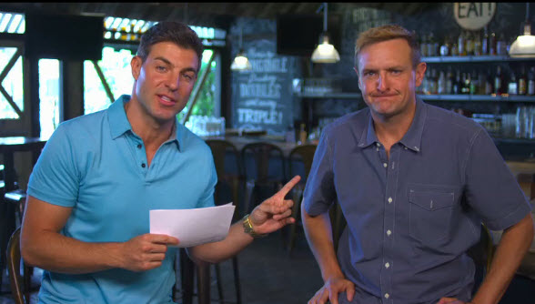 Jeff Schroeder and Mike Boogie Malin