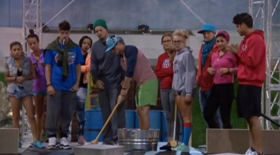 Big Brother 16 Head of Household Competition 1