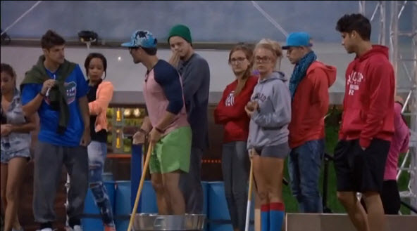 Big Brother 16 Head of Household Competition 3