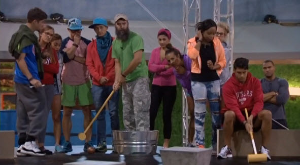 Big Brother 16 Head of Household Competition 6