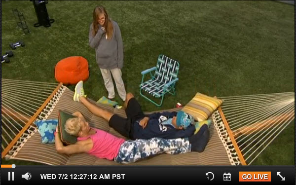 Big Brother 16 Live Feeds July 1 11