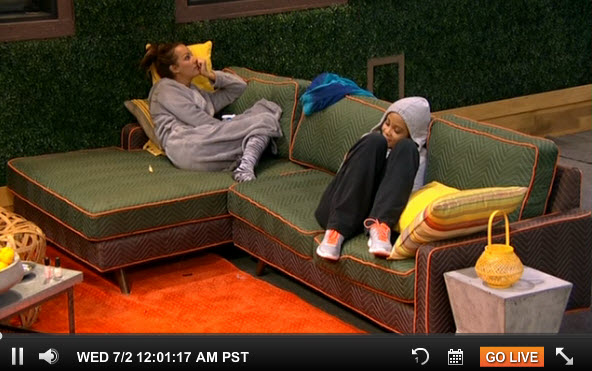 Big Brother 16 Live Feeds July 1 6
