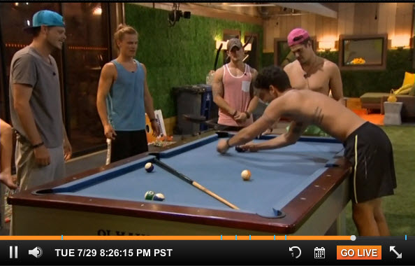 Big Brother 16 Live Feeds July 29 2014 2