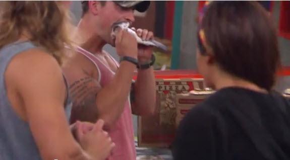 Big Brother Live Feeds Highlight Caleb 2