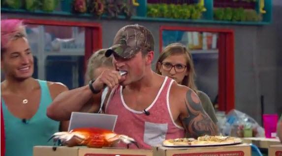 Big Brother Live Feeds Highlight Caleb 3