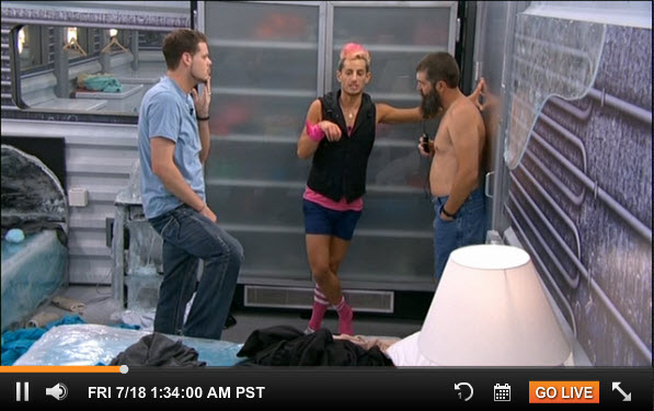 Big Brother Live Feeds July 17 2014 18