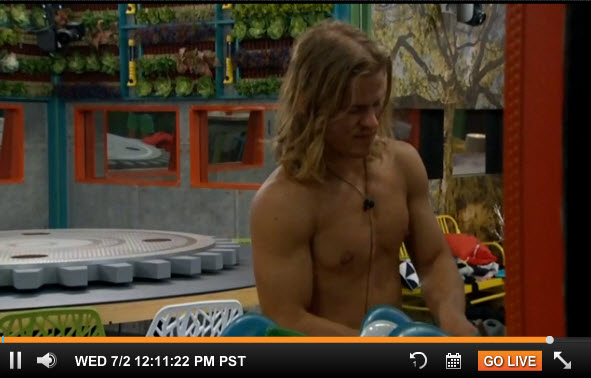 Big Brother Live Feeds July 2 (3)
