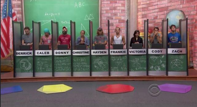 Big Brother 16 Week 6 Eviction 1