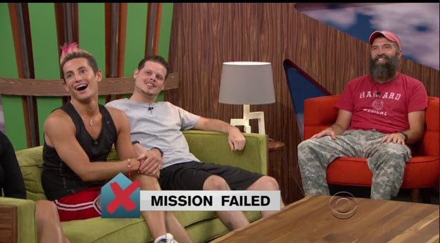 Big Brother 2014 Eviction Results 3