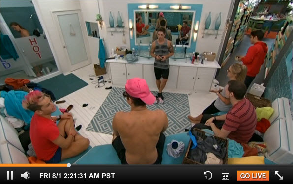 Big Brother 2014 Live Feeds August 1 2014 1
