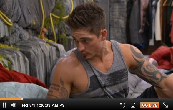 Big Brother 2014 Live Feeds August 1 2014 2