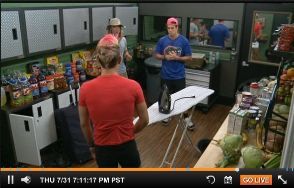 Big Brother 2014 Live Feeds July 31 2014 1