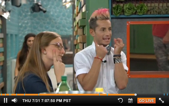 Big Brother 2014 Live Feeds July 31 2014 4
