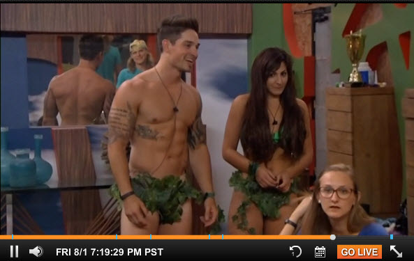 Big Brother 2014 Live Feeds July 31 2014 5