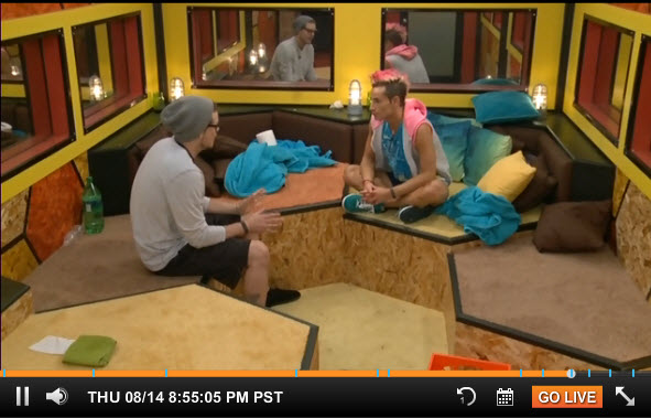 Big Brother Live Feeds August 14 1
